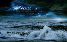 ❥ Peace be still