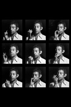 Serge Gainsbourg #cigarette