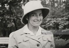 DRK - Schwester in Tropenkleidung, Porträt - Juli 1941