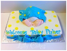 Another baby butt cake!