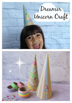 Unicorn Craft Let the magic come to life with our Dreamer favor packs. This pack includes craft materials to create a one-of-kind unicorn horn! www.bittybashco.com