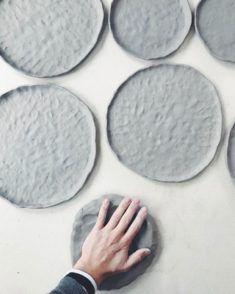 Chloe May Brown Keramik Design Inspiration - Ceramic Tableware, Ceramic Clay, Ceramic Painting, Ceramic Artists, Kitchenware, Slab Pottery, Ceramic Pottery, Pottery Art, Ceramic Techniques