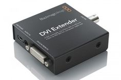 The Blackmagic HDLEXT-DVI DVI Extender lets you can extend the DVI-D connection to your computer monitor via simple SDI cables! Now it's much easier to connect your computer displays anywhere in your facility, or even to more than one monitor when using any 3 Gb/s SDI router. DVI Extender also works as a regular DVI to SD/HD-SDI video converter, that's perfect for broadcast graphics!