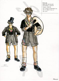 University Of Victoria, Costume Design, Theatre, Costumes, Anime, Fictional Characters, Apparel Design, Dress Up Clothes, Theater