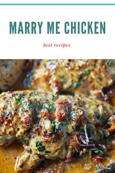 Marry Me Chicken – Best Recipes Lunch Recipes, Breakfast Recipes, Dinner Recipes, Healthy Recipes, Easy Recipes, Healthy Snacks, Marry Me Chicken Recipe, Best Chicken Recipes, Easy Family Meals
