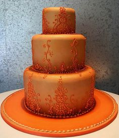 Imagine this cake with blue detailing!