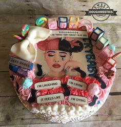 Cry baby Melanie Martinez Cake by Sweet Doughmestics