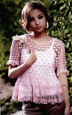 http://www.crochetyana.com/2016/12/08/crochet-blouse-37/