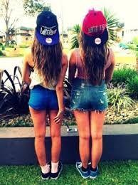 estas gorras estan perfecta para ti y para tu mejor amiga