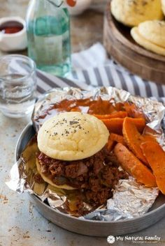 Crock Pot Sloppy Joe Recipe {Paleo, Clean Eating, Gluten-Free, Dairy-Free}