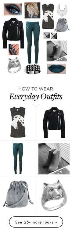 """""""Turquoise outfit"""" by larak24 on Polyvore featuring Balmain, Pangmama, Warehouse, Lucky Brand, Waterford and NARS Cosmetics"""