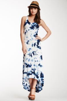 Tie Dye Hi-Lo Dress