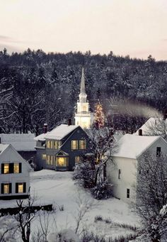 Christmas in New England, U.S