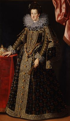 Marie de Médicis, reine de France et de Navarre, à l'époque de son mariage