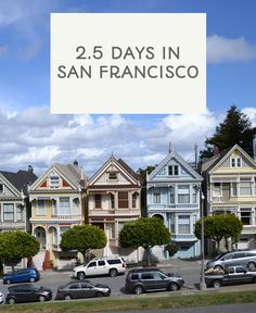2.5 days in San Francisco, California. Top tips on where we stayed, where we ate, what we did and more! Post via This Little Space of Mine