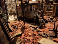 Soviet Invasion of Berlin .1:35 scale diorama completed 12/2014
