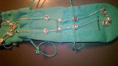 Tiffany nature rose necklace