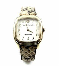 david yurman 30mm 18k yellow gold watch