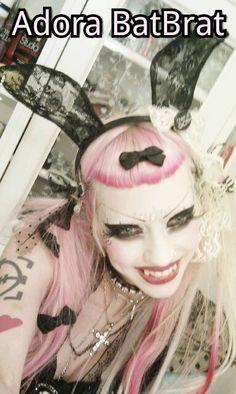 Adora BatBrat Adora Batbrat, Visual Kei, Alternative Fashion, Charity, Halloween Face Makeup, Goth, Latex, How To Make, Icons