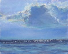 """""""All You See is Sea."""" Ocean Cloud sparkles over the Pacific. Paula Brown"""