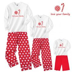 mother daughter holiday candy pajamas Mother Daughter Matching Pajamas cdd2a59df