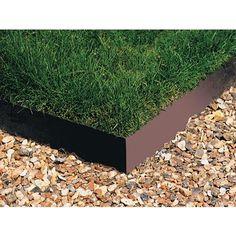 Everedge   Revolutionary Flexible Galvanized Steel Garden Edging   1 Metre    181265   Home Depot