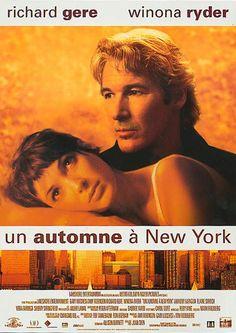 """""""Un Automne à New York"""" de Joan Chen avec Richard Gere, Winona Ryder."""