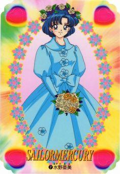 Naoko Takeuchi, Bishoujo Senshi Sailor Moon, Ami Mizuno