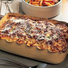 Butternut Squash and Mushroom Lasagna Recipe from Bon Appetit