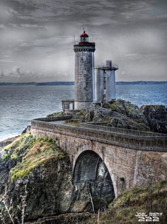 joel222:  Phare du Petit Minou (Bretagne) Photo HDR