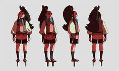 character turnaround example