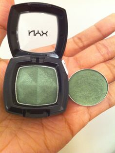 Another Cheap Dupe! Like MAC Humid? Try NYX Mermaid Green! Its a Great Alternative!