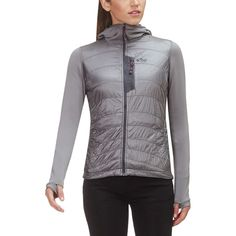Outdoor Research - Deviator Hooded Insulated Jacket - Women s - Pewter  Outdoor Research 7020280ac1db