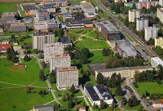 Univerzitní kampus ve Čtyřech Dvorech University Of South, Czech Republic, Prague, City Photo, Bohemia