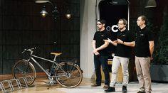 #ILOCKIT das #intelligente #Fahrradschloss für dein #Fahrrad #DHDL #Smartphone #Bluetooth