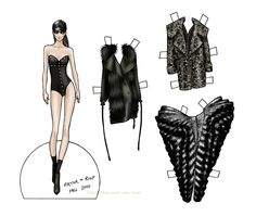2010 FASHION FALL COLLECTION Featuring Viktor & Rolf  by Danielle Meder - Fashion Artist