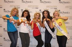 Chi Omegas at Miss America 2011 -- we got 5 states, including AZ. whoop!
