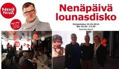 Nenäpäivää vietetään tällä viikolla, mutta Turun toimistomme poppoo ottikin Nenäpäivään varaslähdön Nenäpäivä lounasdiskosta jo lokakuun lopulla.