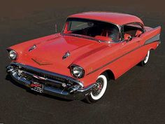 '57 Chevy Belair, and I love white wall tires they are epic!!