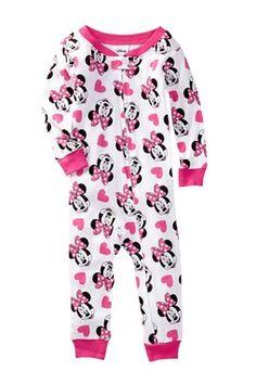 Minnie Mouse Cotton Sleeper (Baby Girls) Kids Pajamas 01f44977d
