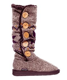 This Brown Malena Boot by MUK LUKS is perfect! #zulilyfinds