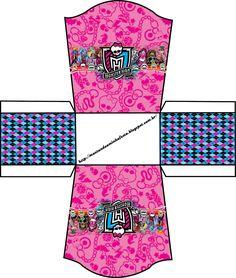 Montando minha festa: Kit digital grátis para imprimir Monster High