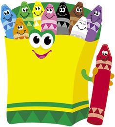Crayons Mini Accent (Set of Preschool Colors, Teaching Colors, Preschool Crafts, Tot School, First Day Of School, Math Classroom, Classroom Decor, Craft Activities For Toddlers, Eid Crafts