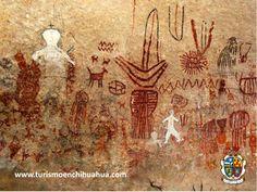 Petrograbado, significa grabado en piedra y es una de las primeras expresiones artísticas que tuvo el hombre. Hay en todo el mundo prueba de ello en cavernas. En los Petrograbados de Samalayuca se les atribuyen a la cultura Mogollón y se calcula que tienen una antigüedad de 1,500 años. #turismoenchihuahua