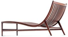 Agatha chaise longue. Designed by Christophe Pillet for Ceccotti Collezioni in 1998.
