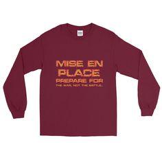 MISE EN PLACE - FIRE Long Sleeve T-Shirt