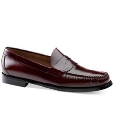 Bass & Co. Men's Logan Weejuns Loafer - Red 10.5