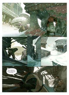 LIBERTADORES (comic-book) on Behance