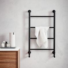 Noir 900 round radiator   bathstore