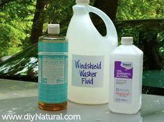 Homemade Windshield Washer Fluid - Easy and Cheap!